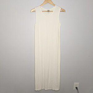Lilith Vintage Ivory Sleeveless Maxi Dress Size M